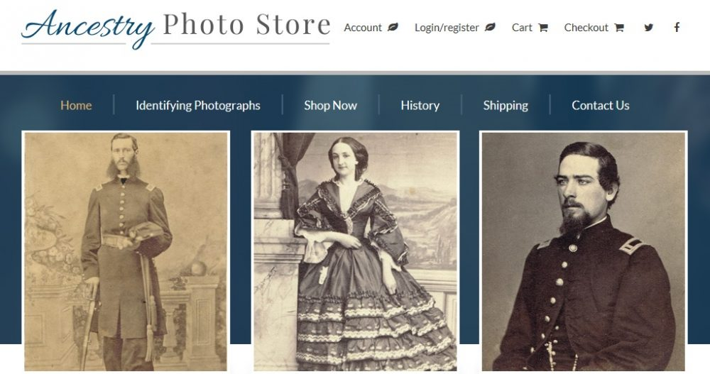 Ancestry Photo Store